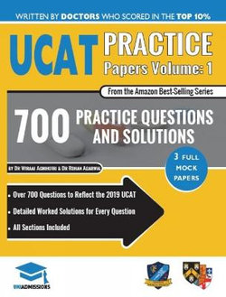 Ucat Practice Papers Volume One | Angus & Robertson