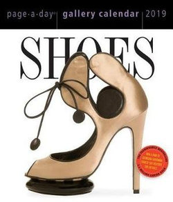 Shoes Page-A-Day Gallery Desk Calendar 2019