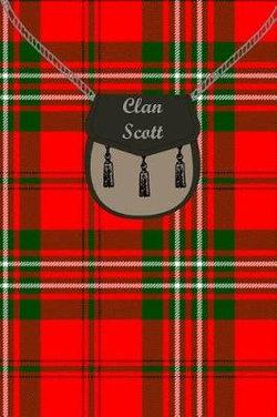 Clan Scott Tartan Journal/Notebook