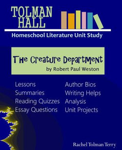The Creature Department by Robert Paul Weston: A Homeschool Literature Unit Study