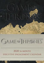 Game of Thrones 2020 16-Month Executive Engagement Calendar