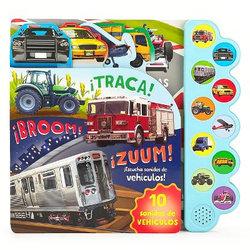 ¡TRACA! ¡BROOM! ¡ZUUM! ¡Escucha Sonidos de Vehículos!
