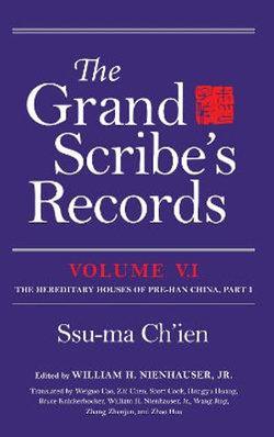 The Grand Scribe's Records, Volume V. 1