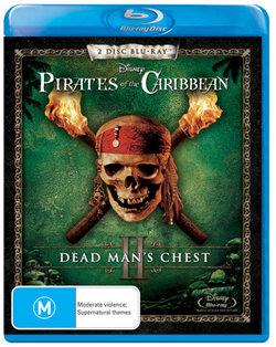Pirates of The Caribbean: Dead Man's Chest (2 Disc Blu-ray)