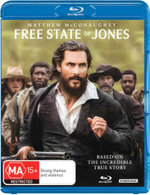 Free State of Jones (Blu-ray/UV)