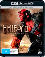 Hellboy II: The Golden Army (4K UHD/Blu-ray)
