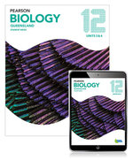 Pearson Biology Queensland 12 Student Book with eBook
