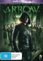 Arrow: Season 2 (DVD/UV)