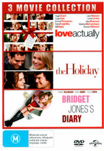 Love Actually / The Holiday / Bridget Jones's Diary (3 Movie Collection)