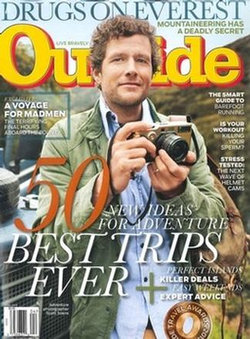 OUTSIDE MAGAZINE (UK) - 12 Month Subscription