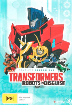 Transformers: Robots in Disguise - Complete Season 1