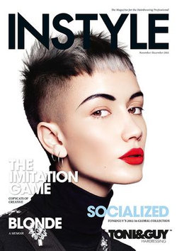INSTYLE - for the Hairdressing Professional - 12 Month Subscription