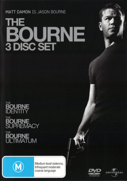 The Bourne 3 Disc Set The Bourne Identity 2002 The Bourne Supremacy The Bourne Ultimatum Angus Robertson
