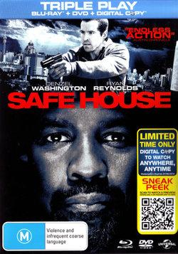 Safe House (2012) (Blu-ray/DVD/Digital Copy)