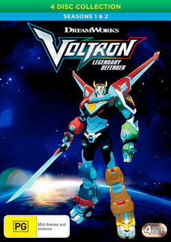 Voltron: Legendary Defender - Seasons 1 & 2 (4 Disc Collection)