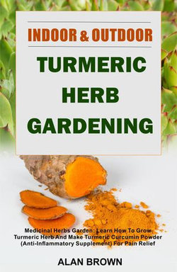 Indoor And Outdoor Turmeric Herb Gardening - Medicinal Herbs Garden: Learn How To Grow Turmeric Herb And Make Turmeric Curcumin Powder (Anti-Inflammatory Supplement) For Pain Relief