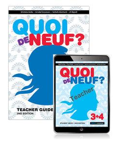 Quoi de Neuf ? 3+4 Teacher Guide, Teacher eBook and Audio Download