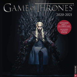 Game of Thrones 2020-2021 16-Month Wall Calendar