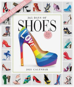 2021 365 Days of Shoes Picture-A-Day Wall Calendar