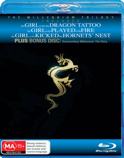 The Millennium Trilogy Boxset (The Girl with the Dragon Tattoo/The Girl who Played with Fire/The Girl who Kicked the Hornets Nest)(4 Discs)