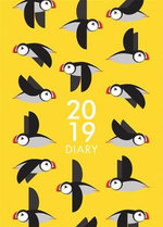 I Like Birds: A6 2019 Busy Puffins Diary