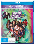Suicide Squad 3D (3D Blu-ray/Blu-ray/UV)
