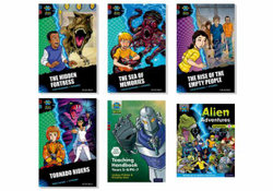 Project X Alien Adventures: Dark Blue, Dark Red and Dark Red + Book Bands, Oxford Levels 15-20 Super Easy Buy Pack