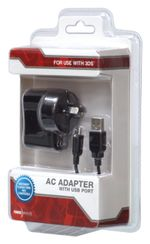 Powerwave 3DS USB AC Adapter (Compatible with Mini NES and SNES)