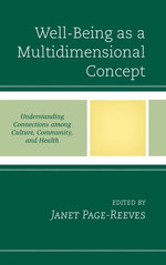 Well-Being as a Multidimensional Concept