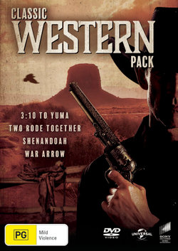 Classic Western Pack (3:10 to Yuma (1957) / Two Rode Together / Shenandoah / War Arrow)