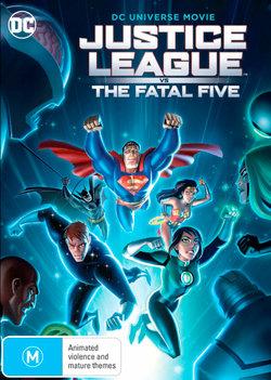 Justice League vs the Fatal Five (DC Universe Movie)