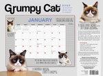 Grumpy Cat (R) 18-Month Desk Pad Planner