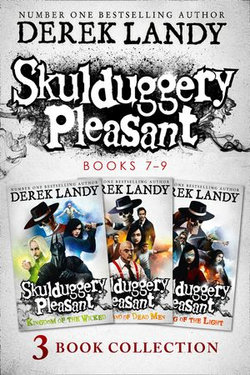 Skulduggery Pleasant: Books 7 – 9: The Darquesse Trilogy: Kingdom of the Wicked, Last Stand of Dead Men, The Dying of the Light