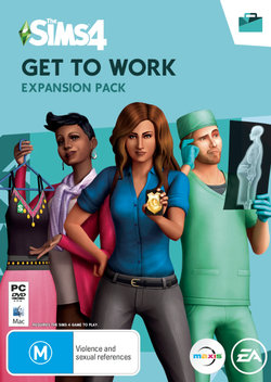 The Sims 4 Get to Work (Expansion)