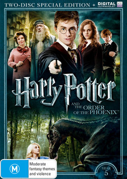 Harry Potter and the Order of the Phoenix (Year 5) (Two-Disc Special Edition) (DVD/UV)