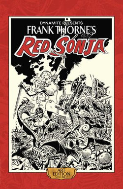 Frank Thorne's Red Sonja: Art Edition Vol 2