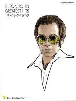 Elton John - Greatest Hits 1970-2002 Songbook