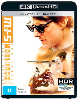 M:I-5 (Mission: Impossible - Rogue Nation) (4K UHD / Blu-ray)