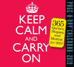 Keep Calm and Carry On Page-A-Day Calendar 2019