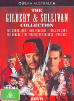 Opera Australia: The Gilbert & Sullivan Collection (The Gondoliers / HMS Pinafore / Trial By Jury / The Mikado / The Pirates of Penzance / Patience)