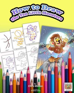 How to Draw The Ten Little Monsters