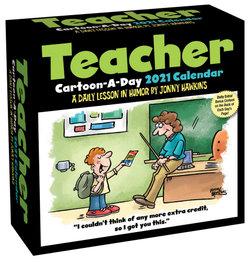 Teacher Cartoon-A-Day 2021 Calendar