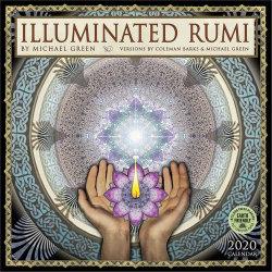 Illuminated Rumi 2020 Wall Calendar