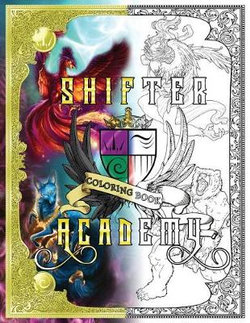 Shifter Academy Coloring Book