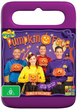 The Wiggles: Pumpkin Face (Limited Edition - Glow in the Dark Cover!)