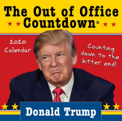 2020 Donald Trump Out of Office Countdown Boxed Calendar