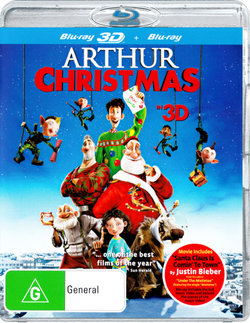 Arthur Christmas in 3D (3D Blu-ray/Blu-ray)