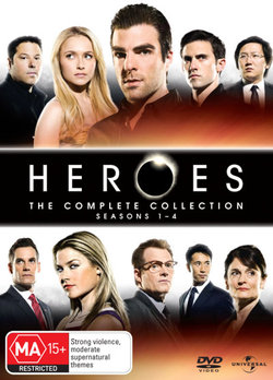 Heroes: The Complete Collection - Seasons 1 - 4