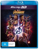 Avengers: Infinity War (3D Blu-ray)