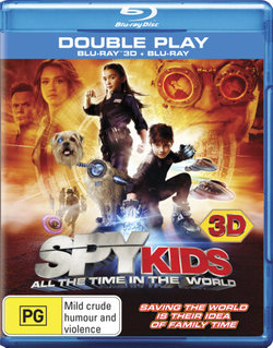 Spy Kids: All the Time in the World 3D (3D Blu-ray/Blu-ray)